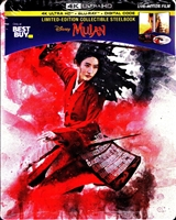 Mulan 4K SteelBook (2020)(BD/DVD + Digital Copy)(Exclusive)