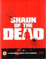 Shaun of the Dead 1-Click SteelBook (EMPTY)(Slip Box)(UK)