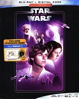 Star Wars IV - A New Hope w/ Lithograph (BD + Digital Copy)(Exclusive)