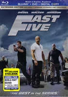 Fast Five: Extended Edition SteelBook (G1)(BD/DVD + Digital Copy)(Exclusive)
