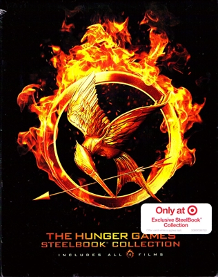 The Hunger Games: The Complete Collection SteelBook (Exclusive)