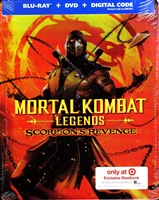 Mortal Kombat Legends: Scorpions Revenge SteelBook (BD/DVD + Digital Copy)(Exclusive)