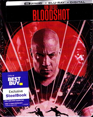 Bloodshot 4K SteelBook (BD + Digital Copy)(Exclusive)