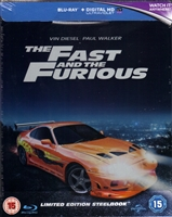 The Fast and the Furious SteelBook (BD + Digital Copy)(UK)