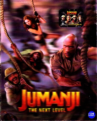 Jumanji: The Next Level 4K Lenticular SteelBook (Korea)