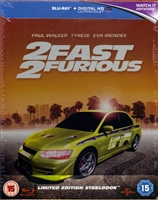 2 Fast 2 Furious SteelBook (BD + Digital Copy)(UK)