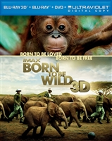 Born to Be Wild 3D (IMAX)(BD/DVD + Digital Copy)
