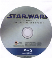 Star Wars: The Complete Saga Bonus Disc 3 - Documentaries and Spoofs