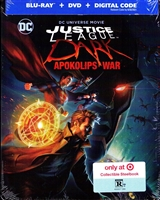 Justice League Dark: Apokolips War SteelBook (BD/DVD + Digital Copy)(Exclusive)