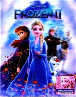 Frozen II Double Lenticular SteelBook (Fanatic Exclusive #1)(China)(Only OST)