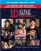 One Direction: This is Us 3D (Lenticular Slip)