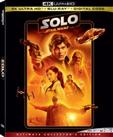Solo: A Star Wars Story 4K (BD + Digital Copy)(Re-release)