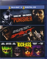 The Punisher / The Spirit / Kick-Ass (BD + Digital Copy)(Exclusive)