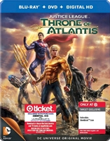 Justice League: Throne of Atlantis SteelBook (BD/DVD + Digital Copy)(Exclusive)