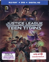 Justice League Vs. Teen Titans SteelBook (BD/DVD + Digital Copy)(Exclusive)