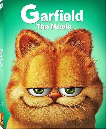 Garfield The Movie Family Slip Bd Dvd Exclusive