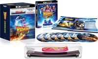 Back to the Future 4K Trilogy: 35th Anniversary Edition DigiBook w/ Skateboard (BD + Digital Copy)