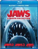 Jaws: 3-Film Collection - Jaws 2 / Jaws 3 / Jaws: The Revenge (BD + Digital Copy)