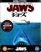 Jaws 4K SteelBook: Japanese Artwork Series #1 (UK)