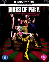Birds of Prey 4K SteelBook (And the Fantabulous Emancipation of One Harley Quinn)(UK)