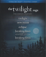 The Twilight Saga: The Complete Collection (BD + Digital Copy)(Exclusive)