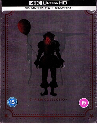 Stephen King's IT: Chapter 1 & 2-Film 4K Collection SteelBook (UK)