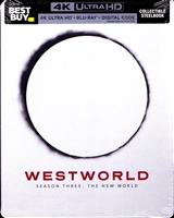 Westworld: Season 3 - The New World 4K SteelBook (BD + Digital Copy)(Exclusive)
