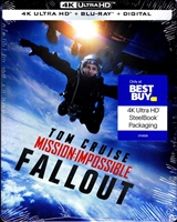Mission: Impossible - Fallout 4K SteelBook (Re-release)(BD + Digital Copy)(Exclusive)