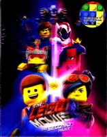The LEGO Movie 2: The Second Part 3D & 4K Double Lenticular SteelBook (Blufans OAB #44)(China)