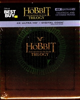 The Hobbit 4K: The Motion Picture Trilogy SteelBook (BD + Digital Copy)(Exclusive)