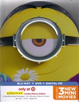 Minions IronPack w/ Bonus Disc (BD/DVD + Digital Copy)(Exclusive)