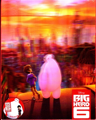 Big Hero 6 3D Lenticular SteelBook (Korea)