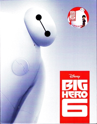 Big Hero 6 3D Full Slip SteelBook (Korea)
