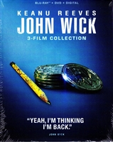 John Wick: Chapters 1-3 Trilogy - Icon Edition (BD/DVD + Digital Copy)(Exclusive)