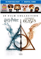 Wizarding World 10-Film Collection: Harry Potter & Fantastic Beasts w/ Funko POPS! (BD + Digital Copy)(Exclusive)