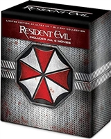 Resident Evil 4K: The Complete Collection - Resident Evil / Apocalypse / Extinction / Afterlife / Retribution / The Final Chapter DigiPack (BD + Digital Copy)