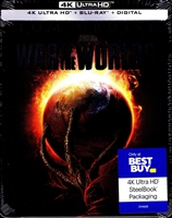 War of the Worlds 4K SteelBook (2005)(BD + Digital Copy)(Exclusive)