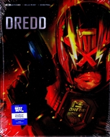 Dredd 4K SteelBook (2012)(BD + Digital Copy)