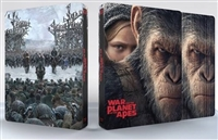 War For the Planet of the Apes 3D & 4K SteelBook w/ Lenticular Magnet (Czech)