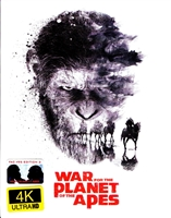 War For the Planet of the Apes 3D & 4K XL Full Slip SteelBook (Czech)