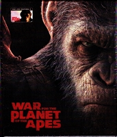 War For the Planet of the Apes 3D & 4K 1-Click SteelBook (Czech)