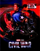 Captain America: Civil War 3D Lenticular SteelBook (Czech)
