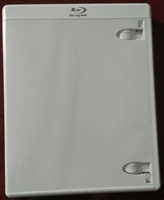 Empty 1-Disc Viva Elite White Blu-ray Case (12.5mm)
