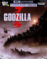 Godzilla 4K SteelBook (2014)(BD + Digital Copy)(Exclusive)
