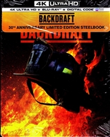 Backdraft 4K SteelBook (BD + Digital Copy)
