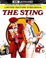 The Sting 4K SteelBook (BD + Digital Copy)