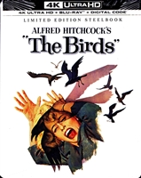 The Birds 4K SteelBook (BD + Digital Copy)