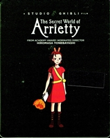 The Secret World of Arrietty: Studio Ghibli SteelBook (BD/DVD)