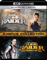 Lara Croft: Tomb Raider 2-Movie 4K Collection (BD + Digital Copy)