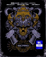 Sicario 4K SteelBook (BD + Digital Copy)
